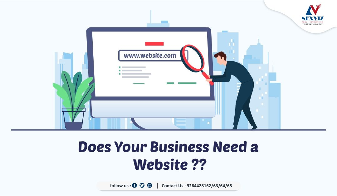 Does Your Business Need a Website???